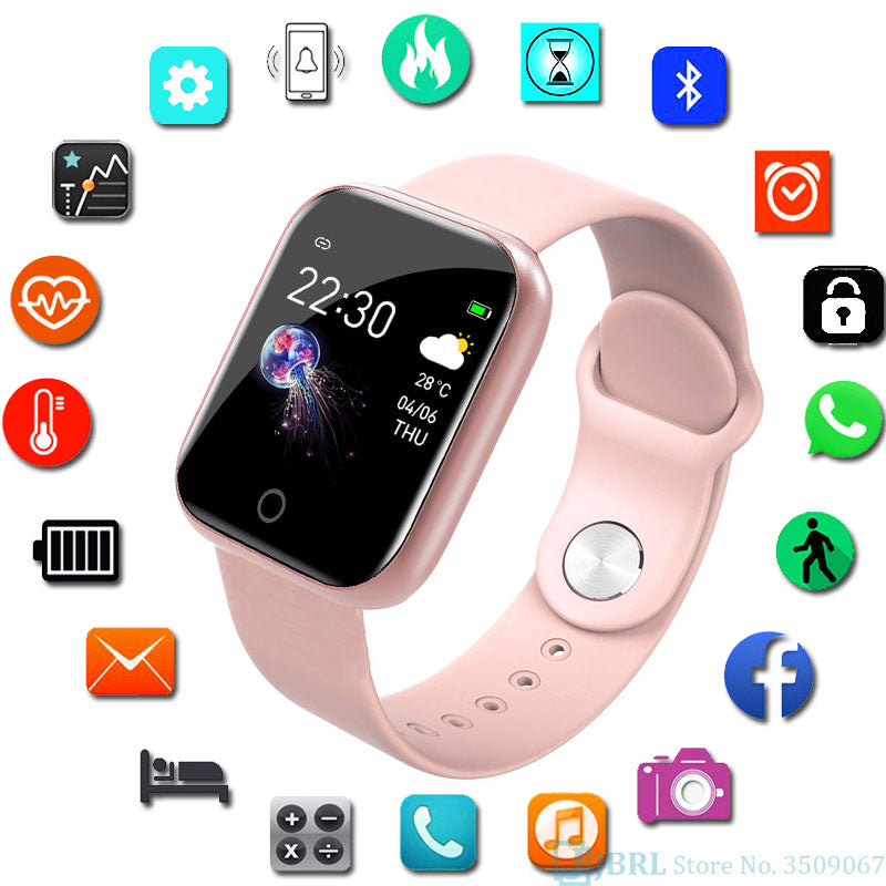 Smart Watch  fitness tracker silicone strap