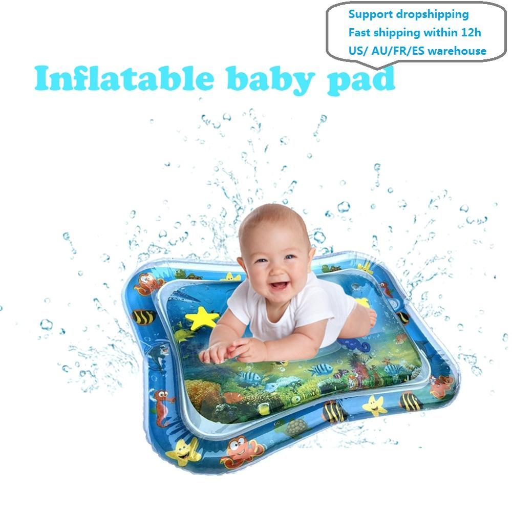 Inflatable water mat for kids