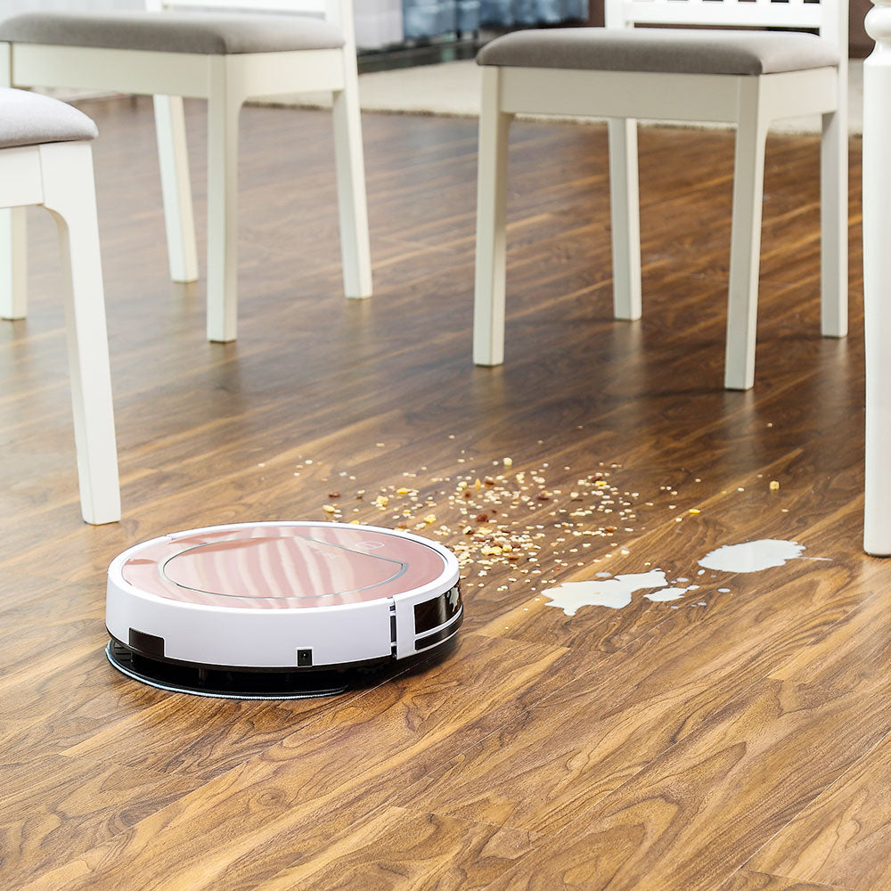ILIFE V7s Plus Robot Vacuum Cleaner Sweep and Wet Mopping Disinfection For Hard Floors&Carpet Run 120mins Automatically Charge