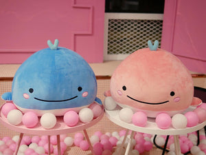 15CM Cute  cotton whale plush