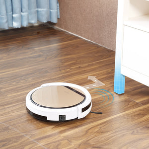 ILIFE V5sPro Robot Vacuum Cleaner vacuum Wet Mopping Pet hair and Hard Floor automatic Powerful Suction Ultra Thin disinfection
