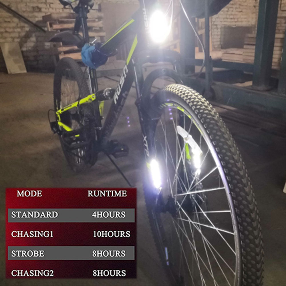 Bicycle Led Taillight Rechargeable