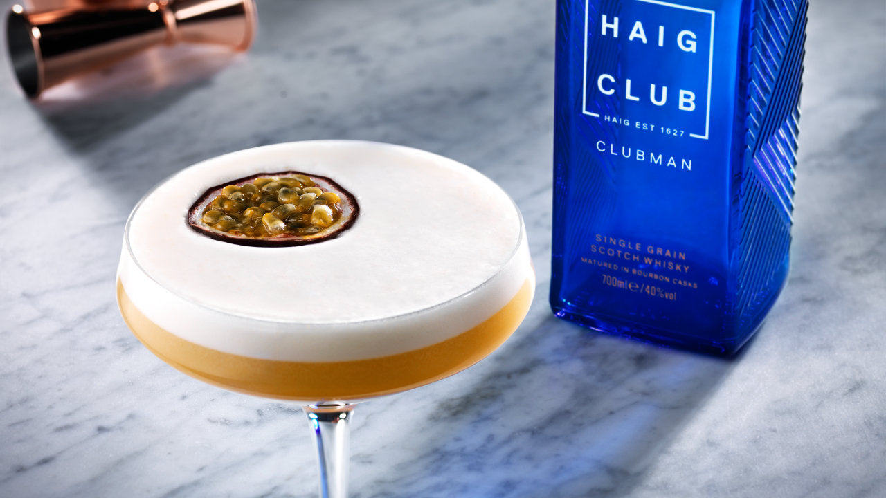 Haig Club Recipe Card
