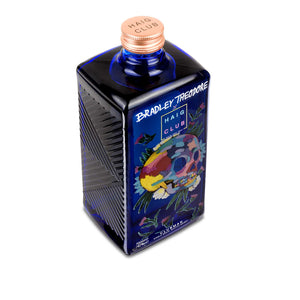 Bradley Theodore Artist Series Haig Club Clubman bottle with Energetic Twist artwork top down angle.