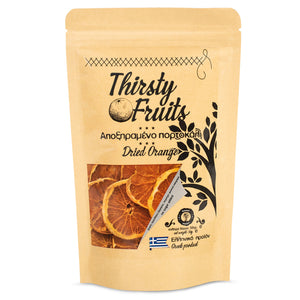Thirsty Fruits Dried Orange garnish package front
