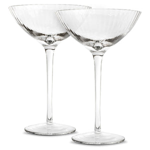 Coupe Glasses - Set of Two