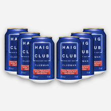 Load image into Gallery viewer, Haig Club Clubman & Crafted Cola 6 Pack