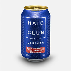 Haig Club Clubman & Crafted Cola 6 Pack