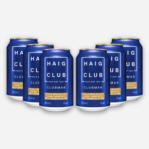 Haig Club Clubman & Root Ginger Ale with Lime 6 Pack