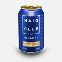Load image into Gallery viewer, Haig Club Clubman & Root Ginger Ale with Lime 6 Pack