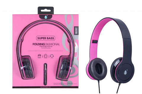 Auriculares M3 con cable, Rosa