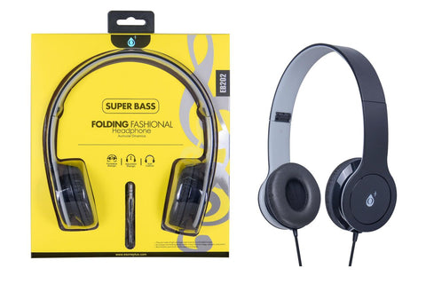 Auriculares M3 con cable, Gris