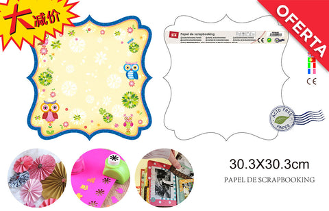 PAPEL SCRAPBOOKING 31X31 MP