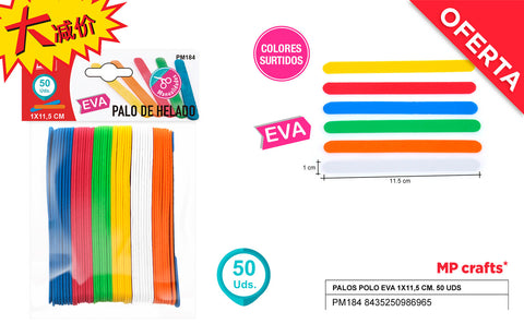 EVA PALO POLO 50U COLORES MP