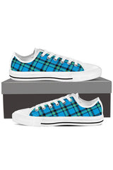 Vintage Blue Tartan - Men's Low Tops