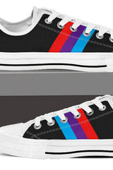 M Stripe - Women's Low Tops