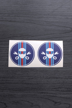 Motorsport Pattern Stickers
