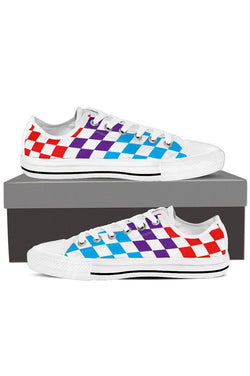 Motorsport Flag - Women's Low Tops