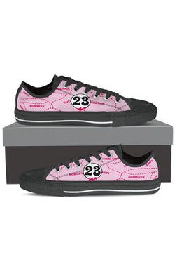 Pink Pig - Women's Low Tops