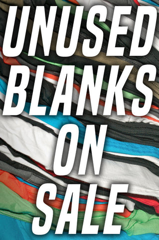 Unused Shirt Blanks - Only M Left