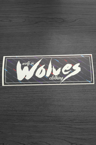 Wolf in Wolves Clothing Sticker