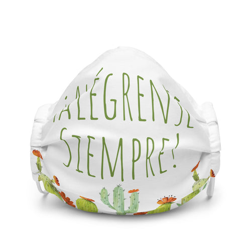 Alégrense Siempre! Cactus Premium Face Mask-JW Gifts-Our Joy Designs