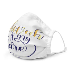 Load image into Gallery viewer, Jehovah is My Share with Heart Premium Face Mask-JW Gifts-Our Joy Designs