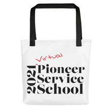Load image into Gallery viewer, Virtual Pioneer Service School Tote Bag-JW Gifts-Our Joy Designs