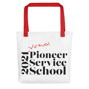 Virtual Pioneer Service School Tote Bag-JW Gifts-Our Joy Designs