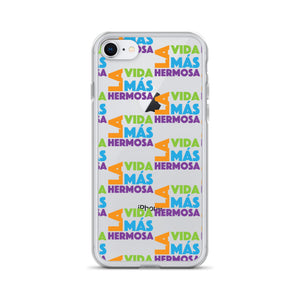 SPANISH La Vida Más Hermosa (The Best Life Ever) iPhone Case-JW Gifts-Our Joy Designs