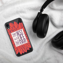Charger l'image dans la galerie, Best Life Ever Red Floral iPhone Case-JW Gifts-Our Joy Designs