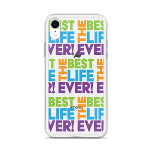 The Best Life Ever Colorful Cube iPhone Case-JW Gifts-Our Joy Designs