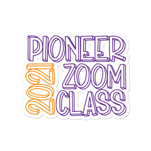 2021 JW Pioneer Zoom Class Bubble-free Stickers-JW Gifts-Our Joy Designs