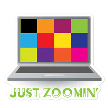 Load image into Gallery viewer, Just Zoomin' Green Bubble-free Stickers-JW Gifts-Our Joy Designs
