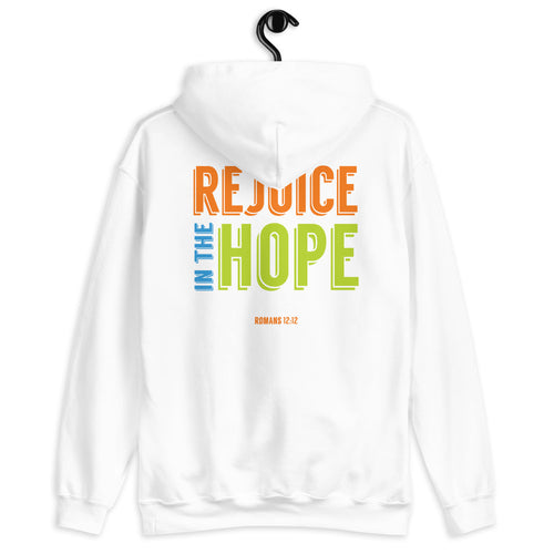 Rejoice in the Hope Unisex Hoodie-JW Gifts-Our Joy Designs