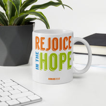 Load image into Gallery viewer, Rejoice in the Hope Mug-JW Gifts-Our Joy Designs
