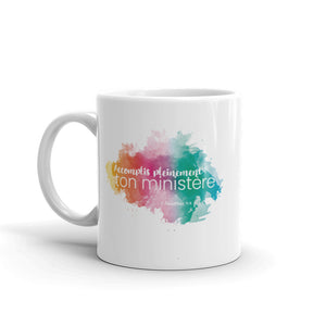 FRENCH Accomplis Pleinment Ton Ministère Mug-JW Gifts-Our Joy Designs