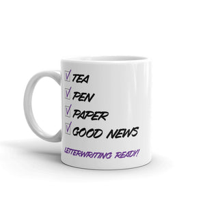 Tea Letterwriting Ready Mug-JW Gifts-Our Joy Designs