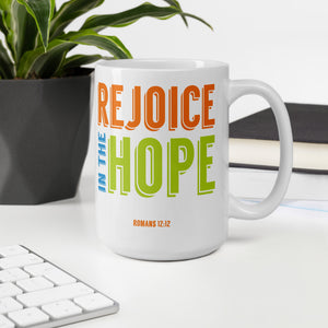 Rejoice in the Hope Mug-JW Gifts-Our Joy Designs