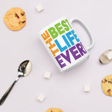 Load image into Gallery viewer, Best Life Ever Colorful Mug-JW Gifts-Our Joy Designs