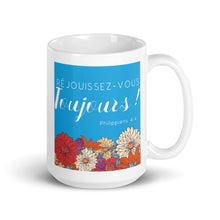 Load image into Gallery viewer, Réjouissez-vous Toujours! French Mug-JW Gifts-Our Joy Designs