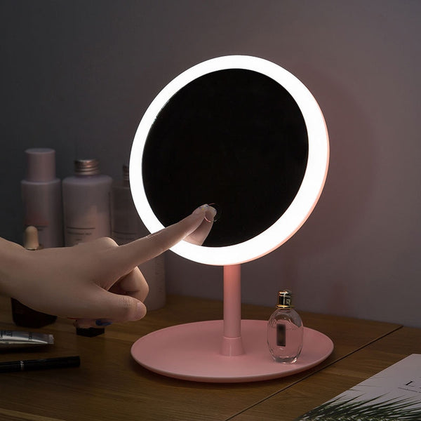 LED Touchscreen Vanity Mirror