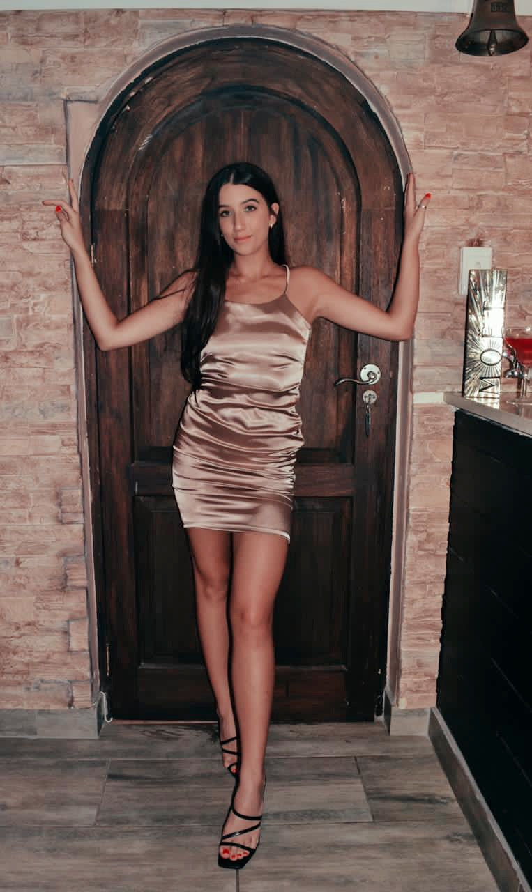Short Satin Dress (Pre-Order Only)