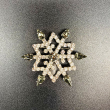 Load images into Gallery Viewer, [Swarovski jewelry] Snowflake brooch