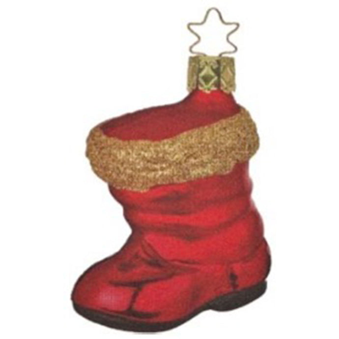 [Glass ornament] Red boots
