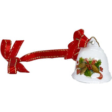 Load images into Gallery Viewer, [Ornament] Mini-bell ornament (Pincone) with ribbon