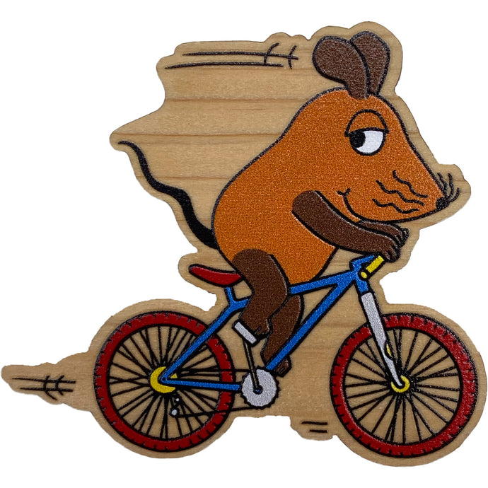 [Mouse Goods] Mouse Eco Wooden Magnet