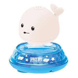 Whale Baby Sprinkler Ball with Light Music