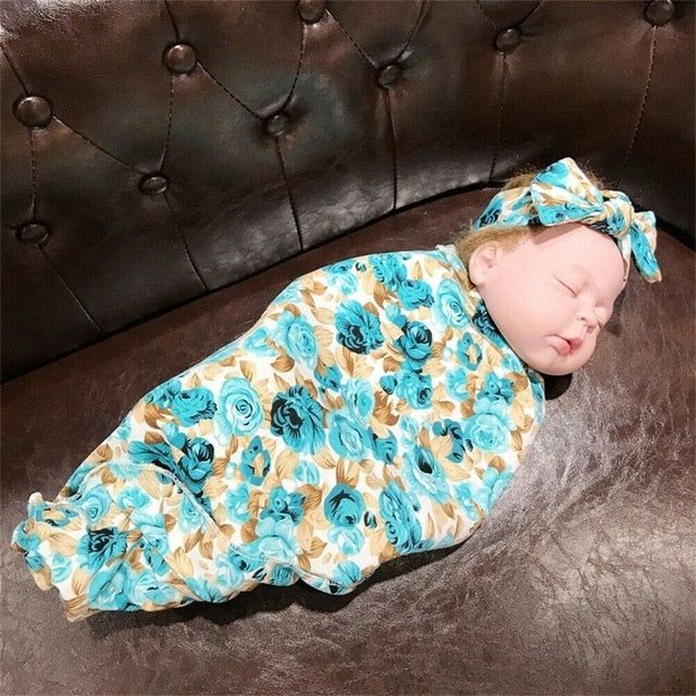 Muslin Swaddle + Bow