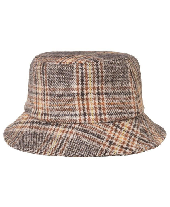 Unmade Fay Bucket Hat Chocolate